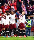 Jugadores del Bayern Munich aceptaron la reducción de un porcentaje de su salario EFE/EPA/LUKAS BARTH-TUTTAS CONDITIONS - ATTENTION: The DFL regulations prohibit any use of photographs as image sequences and/or quasi-video.
