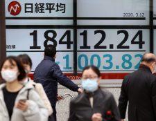 Lo Juegos Olímpicos de Tokio 2020 están en peligro debido al nuevo coronavirus. (Foto Prensa Libre: EFE)