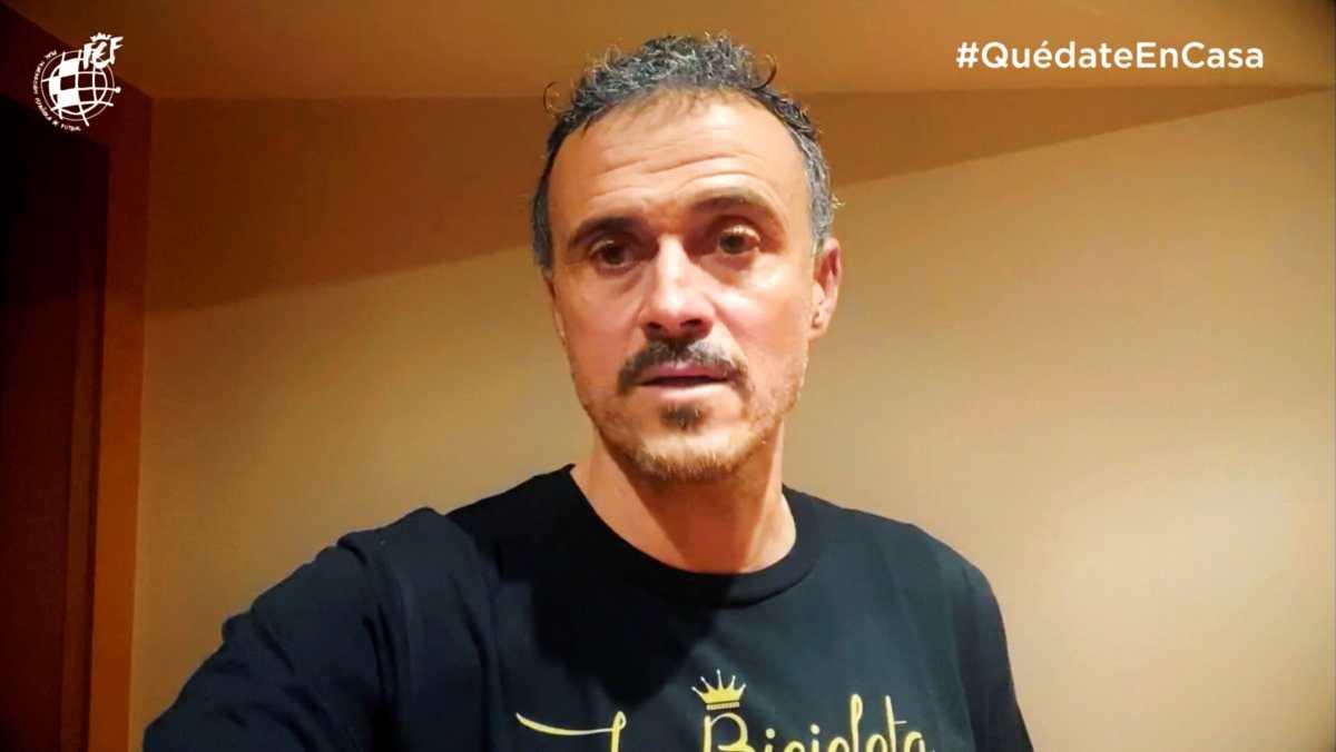 """Luis Enrique: """"Los futbolistas están en una situación frustrante"""""""