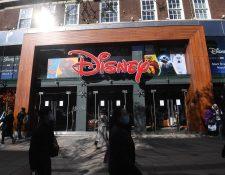 Las salas de cine permaneces cerradas pero Disney continúa trabajando en el remake de los clásicos animados. Foto de archivo Prensa Libre EFE