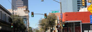 El consulado de Tucson, Arizona confirmó el caso del guatemalteco que dio positivo en coronavirus. (Foto Prensa Libre: EFE)