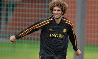 Marouane Fellaini se  une a los futbolistas infectados con covid-19. (Foto Prensa Libre: EFE)