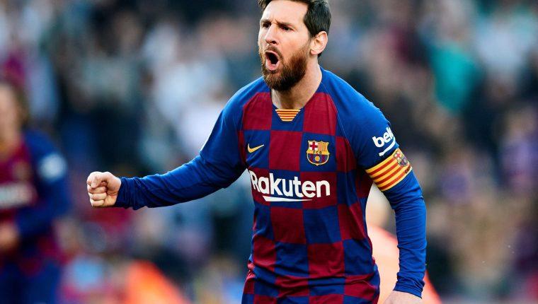El argentino Lionel Messi  y el resto de la plantilla estarán re negociando con la dirigencia en el aspecto salarial, para ayudar al club que han empezado a tomar medidas para el impacto económico ocasionado por el coronavirus EFE/ Alejandro García ARCHIVO