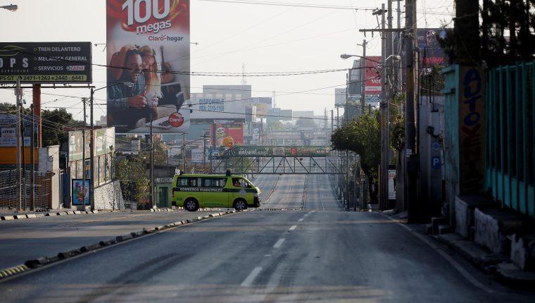 El primer caso de covid-19 se registró en Guatemala el 13 de marzo. (Foto Prensa Libre: AFP)