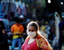 Guatemala continúa bajo toque de queda parcial y suspensión de transporte para prevenir contagios de coronavirus. (Foto Prensa Libre: EFE)