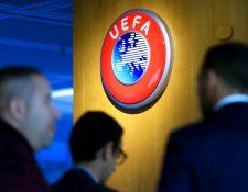 La UEFA trabaja en una serie de escenarios posibles. (Foto Prensa Libre: EFE)