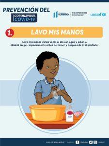 Lavo mis manos