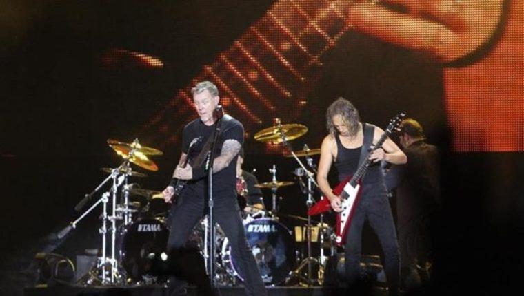 Metallica invita a quedarse en casa y disfrutar de sus conciertos desde un sofá. (Foto: Hemeroteca PL)