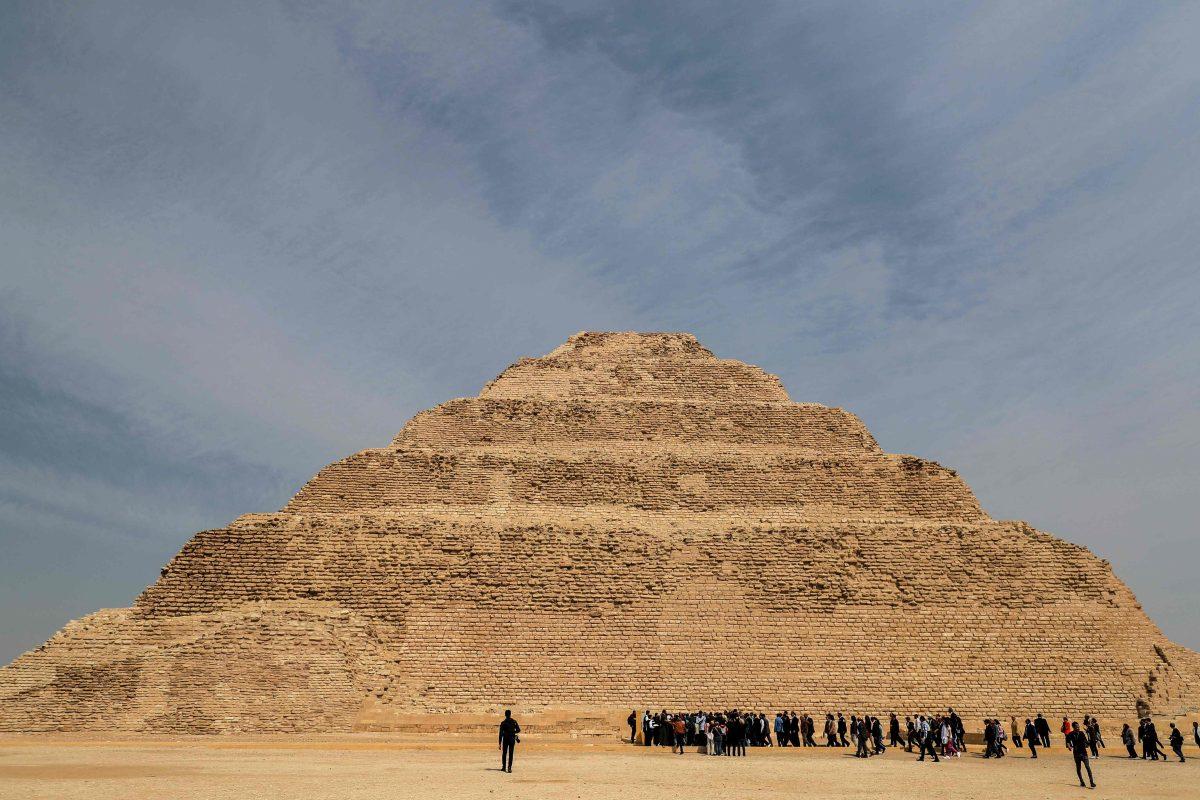 Fotogalería: pirámide del faraón Zoser, la más antigua de Egipto, es reabierta al público