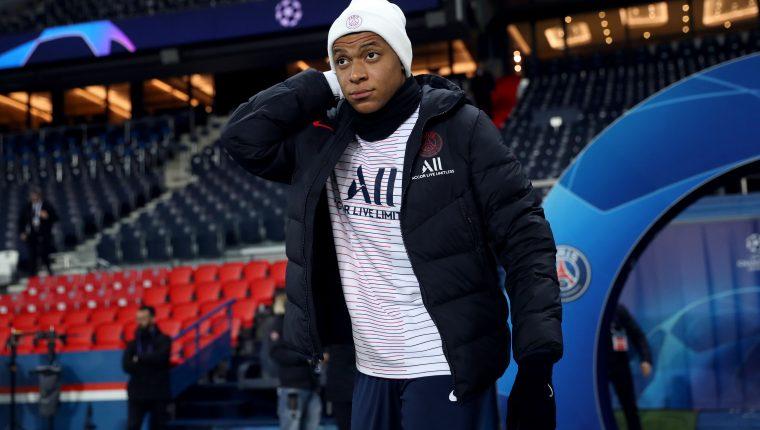 Mbappé, actual jugador del París SG, sigue en la mira del Real Madrid. (Foto Prensa Libre: AFP).