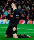 El delantero del Atlético de Madrid siempre ha mostrado su amor por el equipo. (Foto Prensa Libre: AFP)