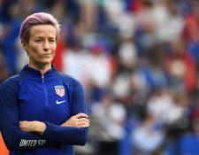 Megan Rapinoe está molesta por los comentarios sexistas de la Liga Estadounidense de futbol. (Foto Prensa Libre: EFE)
