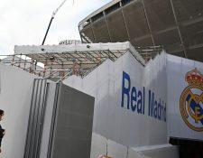 El Real Madrid entró en cuarentena ante el brote de coronavirus. (Foto Prensa Libre: AFP)