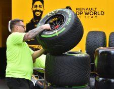 El campeonato 2020 de Fórmula 1 no ha empezado aún como consecuencia de la pandemia. (Foto Prensa Libre: AFP).