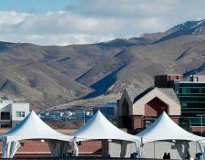 El sismo causó temor en varios vecinos de Utah. (Foto Prensa Libre: AFP)