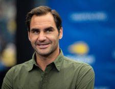 El tenista Roger Federer ayudará a sus compatriotas por los problemas económicos del Covid-19. (Foto Prensa Libre: AFP)