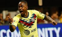 ATLANTA, GEORGIA - AUGUST 14: Renato Ibarra #30 of Club America reacts after scoring the first goal against Atlanta United in the first half during the final of the Campeones Cup between Club America and Atlanta United at Mercedes-Benz Stadium on August 14, 2019 in Atlanta, Georgia.   Kevin C. Cox/Getty Images/AFP == FOR NEWSPAPERS, INTERNET, TELCOS & TELEVISION USE ONLY ==