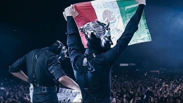 Ghost presentó recientemente un concierto en México. (Foto tomada de El Heraldo).