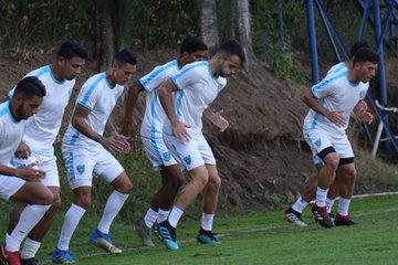 El equipo Azul y Blanco tendrá un juego amistoso el miércoles contra Panamá. (Foto Prensa Libre: Fedefut )