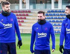 Los jugadores del primer equipo le significarán un ahorro de €90 millones al FC Barcelona. Foto Prensa Libre