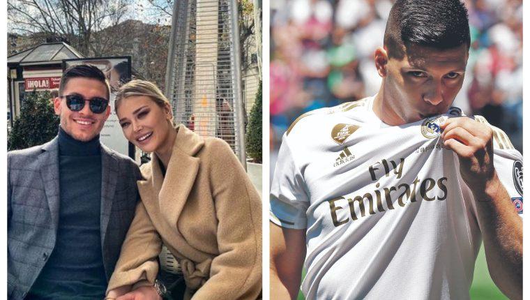 Luka Jovic podría recibir un fuerte castigo en su país. (Foto Prensa Libre: Instagram)
