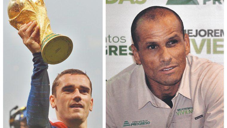 Griezmann ha recibido criticas de Rivaldo. (Foto Prensa Libre: Hemeroteca PL)