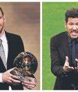 Lionel Messi y Diego Simeone lideran en ingresos. (Foto Prensa Libre: Hemeroteca PL)