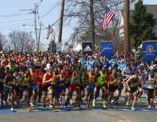 La maratón de Boston, hasta ahora, sigue en pie para celebrarse el 20 de abril. (Foto Prensa Libre: Hemeroteca PL)