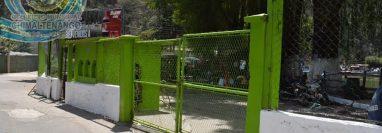 El balnearios Los Aposentos permanece cerrado. (Foto Prensa Libre: Municipalidad de Chimaltenango).