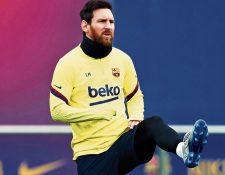 Lionel Messi, jugador del FC Barcelona. (Foto Prensa Libre: Hemeroteca PL)