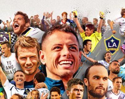 El LA Galaxy festeja 25 años de futbol en la MLS. (Foto Prensa Libre: Twitter LA Galaxy)