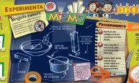 Las láminas de entretenimiento de Chicos incluirán experimentos para que los niños hagan en casa.