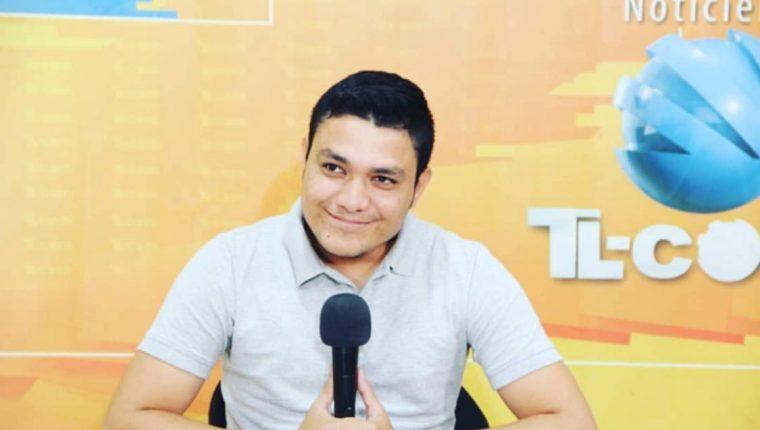 Bryan Leonel Guerra se desempeñaba como presentador de noticias en la televisión por cable de Chiquimula. (Foto Prensa Libre: Tomada de Facebook)