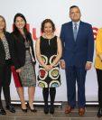 Personeros de CentaRSE y BAC Credomatic presentaron datos de la convención. Foto Prensa Libre: Cortesía