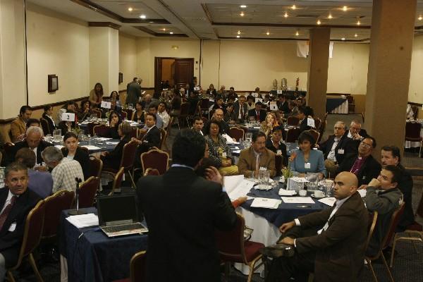 El sector de convenciones ha hecho un esfuerzo atraer más convenciones, congresos y reuniones al país. (Foto, Prensa Libre: Hemeroteca PL)