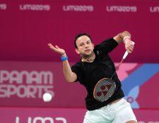 Kevin Cordón espera llegar bien a sus cuartos juegos olímpicos. (Foto Prensa Libre: Carlos Vicente)