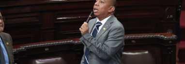 Diputado Aldo Dávila en el Congreso de la República. (Foto Prensa Libre: HemerotecaPL)