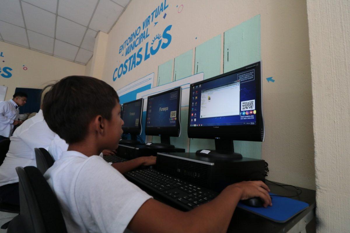 Así funcionará el modelo digital educativo implementado en La Democracia