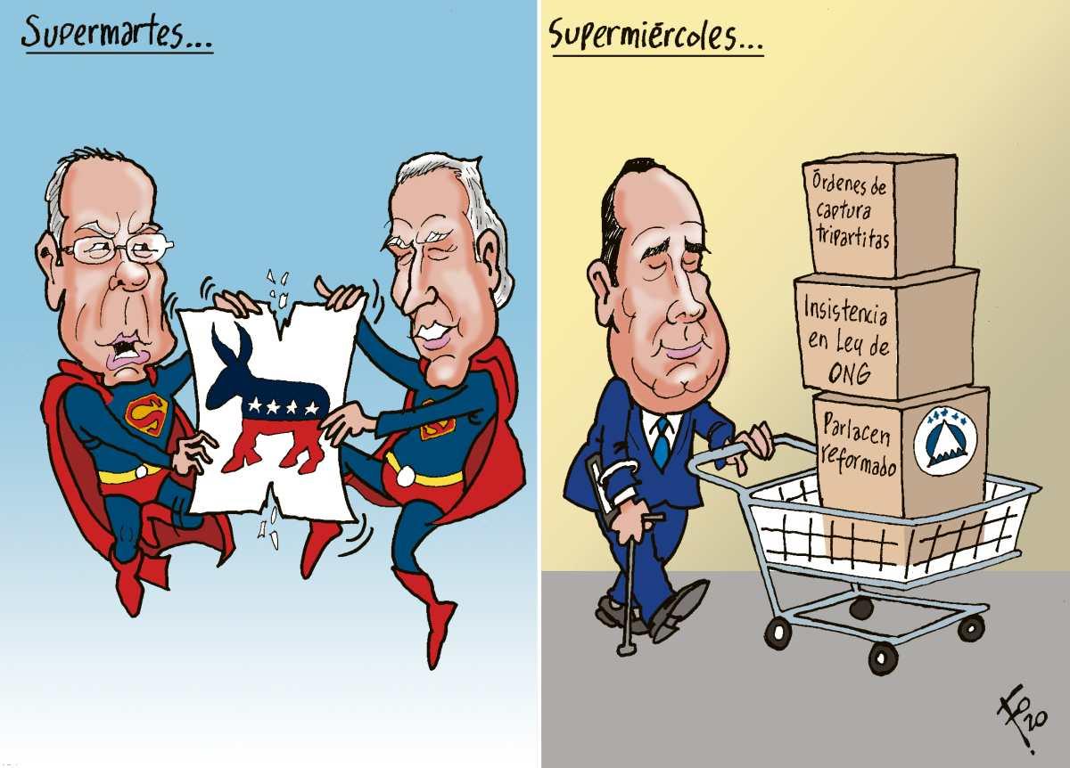 Fo: Supermartes / supermiércoles