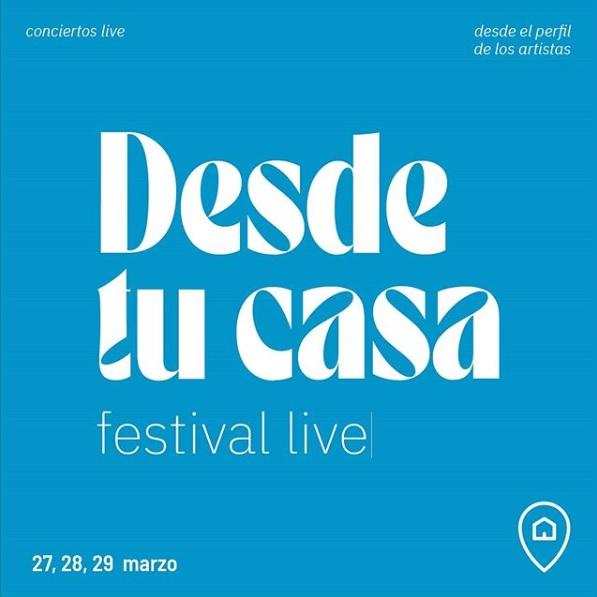"""""""Desde Tu Casa Festival"""": músicos latinos se unen en concierto virtual por el coronavirus"""