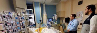 La migrante Miriam Estefany Girón Luna falleció en un hospital de Texas. (Foto: Cortesía Cancillería).