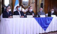 El presidente Alejandro Giammattei anunció que van 21 casos de contagio de coronavirus, en el país. (Foto Prensa Libre: Hemeroteca PL)