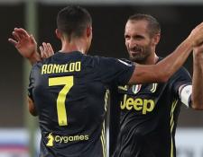 Giorgio Chiellini fue el impulsor de la reducción de salarios en la plantilla de la Juventus. Foto Prensa libre: