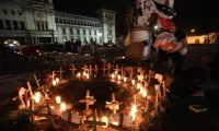 El incendio en una habitación del Hogar Seguro Virgen de la Asunción dejó el saldo de 41 niñas y adolescentes muertas. (Foto Prensa Libre: Hemeroteca PL)