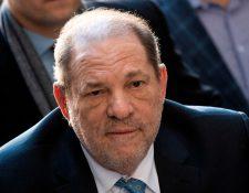 Harvey Weinstein fue condenado a 23 años de prisión por violación y acto sexual criminal a inicios de marzo. (Foto Prensa Libre: Johannes EISELE/AFP).