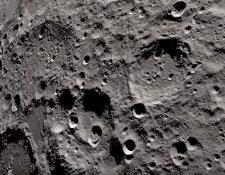 Imágenes de la luna captadas por las tripulación del Apollo 13. (Captura de pantalla de video de la Nasa).