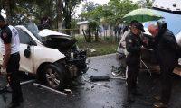 El domingo último tres integrantes de una familia rusa murieron en un hecho tránsito en el kilómetro 249, ruta al atlántico, Morales, Izabal.