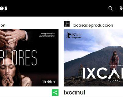 Las películas están disponibles en la plataforma de cine independiente MOWIES. (Foto Prensa Libre).