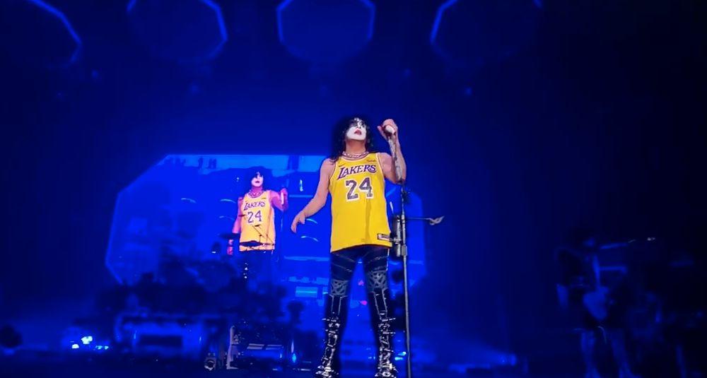 Video: así fue el homenaje de Kiss a Kobe Bryant en el Staples Center