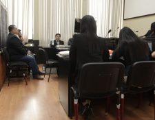 Audiencia en la que los diputados fueron ligados a proceso en el caso Asalto al Ministerio de Salud. (Foto Prensa Libre: Edwin Pitán).